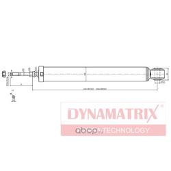 Амортизатор подвески газонаполненный (DYNAMATRIX-KOREA) DSA344314