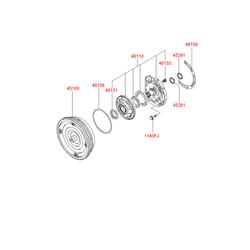Гидротрансформатор АКПП (Hyundai-KIA) 4510039700
