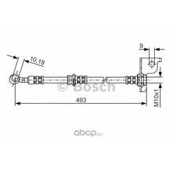 Тормозной шланг (Bosch) 1987476370
