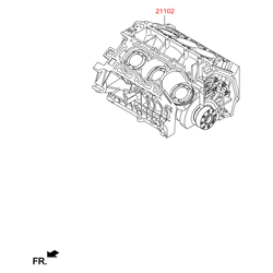 Деталь (Hyundai-KIA) 261R23CA0A