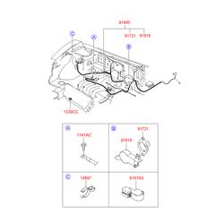 Деталь (Hyundai-KIA) 9182126000