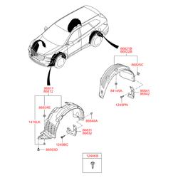 Деталь (Hyundai-KIA) 86841B8500