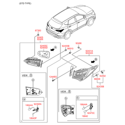 Деталь (Hyundai-KIA) 924062W500