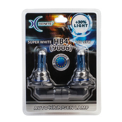 Лампы галоген xenite 9006 (p22d) super white (Xenite) 1007041