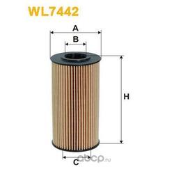 Масляный фильтр (WIX FILTERS) WL7442