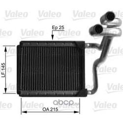 Радиатор отопителя (Valeo) 812441