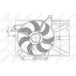 Вентилятор (Stellox) 2999300SX