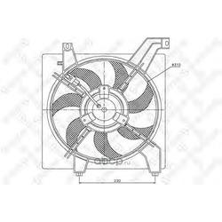 Вентилятор (Stellox) 2999187SX