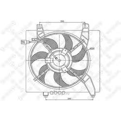 Вентилятор (Stellox) 2999184SX