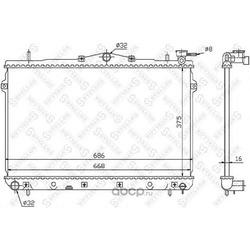 Радиатор системы охлаждения МКПП (Stellox) 1025304SX