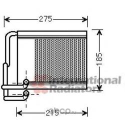 Теплообменник, отопление салона (Schlieckmann) 60826213