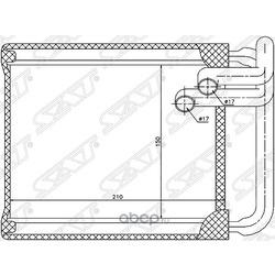 Радиатор отопителя салона (Sat) STHN303950