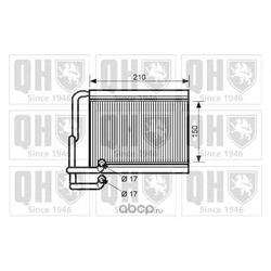 Теплообменник, отопление салона (QUINTON HAZELL) QHR2249