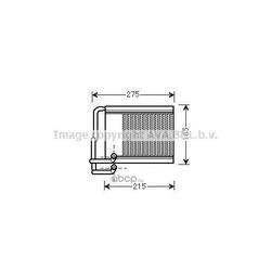Теплообменник, отопление салона (Prasco) HY6213