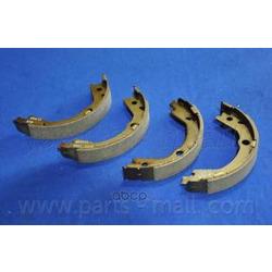 Колодки барабанные (Parts-Mall) PLA028