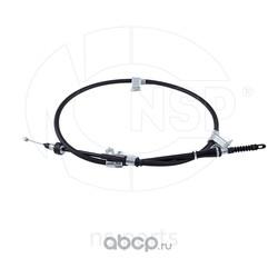 Трос стояночного тормоза левый (NSP) NSP02597602H300