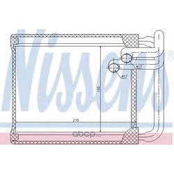 Радиатор отопителя (Nissens) 77632