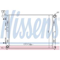 Радиатор охлаждения двигателя (Nissens) 67076