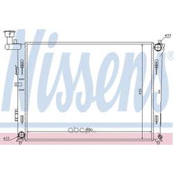 Радиатор, охлаждение двигателя (Nissens) 67075