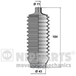 Пыльник рулевой тяги (Nipparts) J2845000