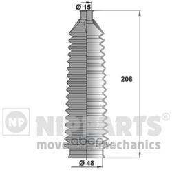 Пыльник рулевой рейки (Nipparts) J2840501