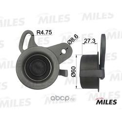 Ролик ремня ГРМ (Miles) AG02003
