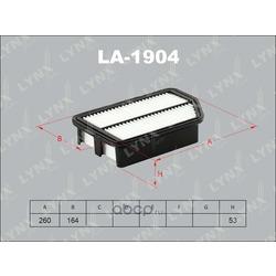 Фильтр воздушный (LYNXauto) LA1904
