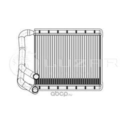 Радиатор печки (Luzar) LRH08X0