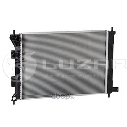 Радиатор охлаждения (Luzar) LRC08X0