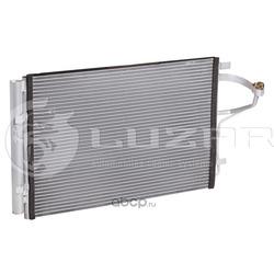 Радиатор кондиционера с ресивером (Luzar) LRAC08X6