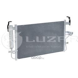 Радиатор кондиционера (конденсер) (Luzar) LRAC08D2