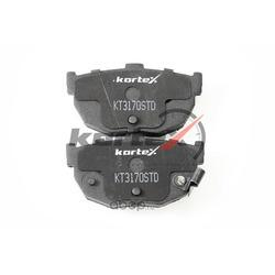 Колодки тормозные задние, комплект (KORTEX) KT3170STD