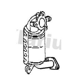 Катализатор (KLARIUS) 323567