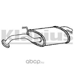 Глушитель выхлопных газов конечный (KLARIUS) 230992