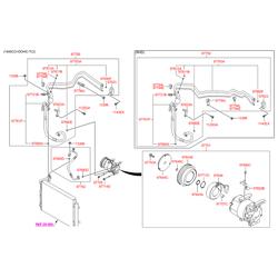 Компрессор кондиционера (Hyundai-KIA) 977012K001