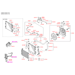 Радиатор кондиционера (Hyundai-KIA) 976062L600