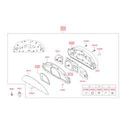 Датчик скорости (Hyundai-KIA) 964202D501
