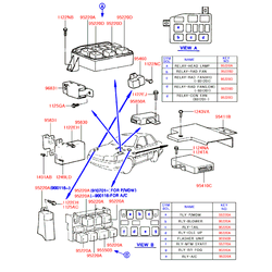 Деталь (Hyundai-KIA) 9555036000