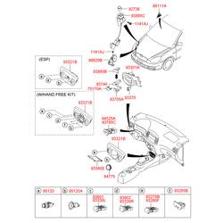 Деталь (Hyundai-KIA) 951200X000
