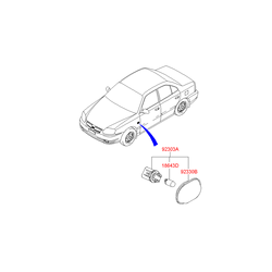 Указатель поворота (Hyundai-KIA) 9230325000