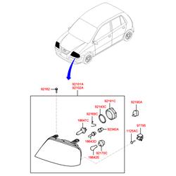 Блок управления фарами (Hyundai-KIA) 921303D000