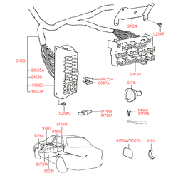 Предохранитель (Hyundai-KIA) 9183621100