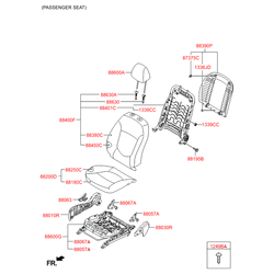 Накладка (Hyundai-KIA) 882933X000RY