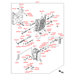 Пружина спиральная, задняя (Hyundai-KIA) 463293A000