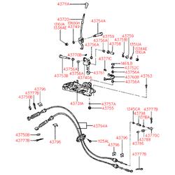 Кузовной уплотнитель (Hyundai-KIA) 4375936000