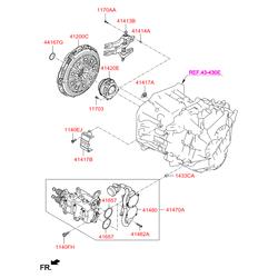 Подшипник с цилиндрическими роликами (Hyundai-KIA) 414202D000