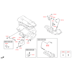 Датчик детонации двигателя (Hyundai-KIA) 392502B020