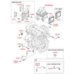Лямбда зонд (Hyundai-KIA) 392102B010