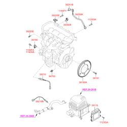Лямбда зонд (Hyundai-KIA) 3921023950