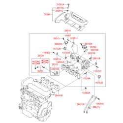 Шаговый мотор (Hyundai-KIA) 3515023900